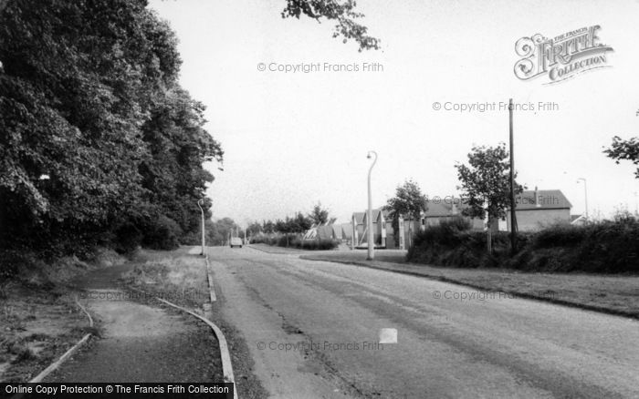 Photo of Wordsley, General View c.1965