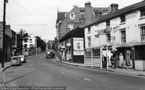 Photo of Wordsley, High Street 1959