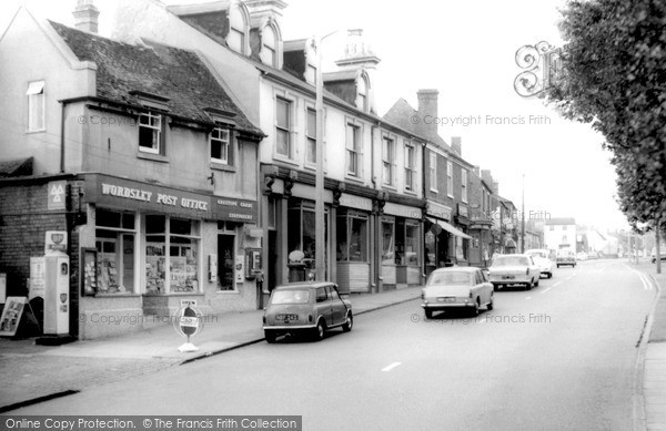Photo of Wordsley, High Street c.1965