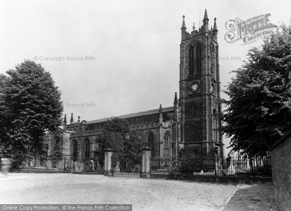 Photo of Wordsley, Holy Trinity Church c.1965