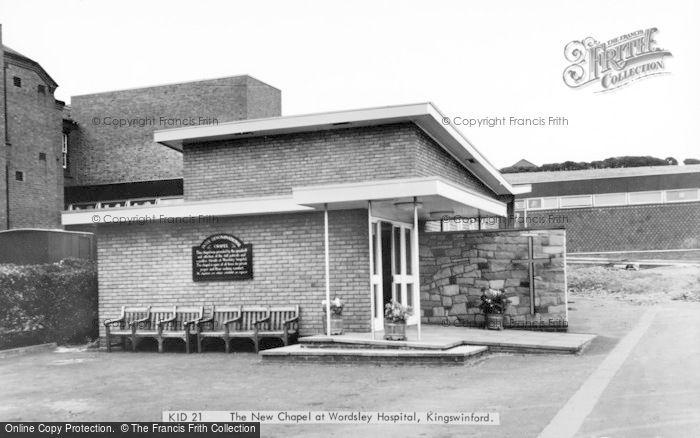 Photo of Wordsley, Hospital, The New Chapel c.1965