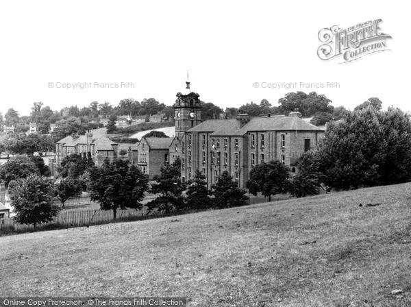 Photo of Wordsley, the Hospital c1965