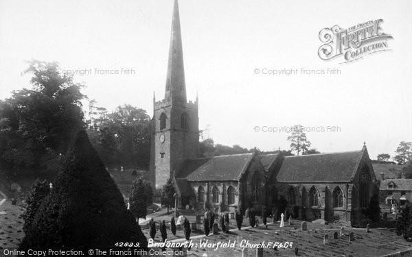 Photo of Worfield, St Peter's Church 1898