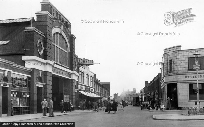Photo of Workington, Murray Road c1955, ref. W316015