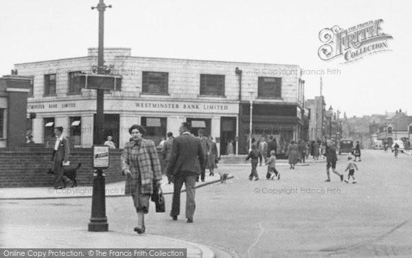 Photo of Workington, Pedestrians In Oxford Street c.1955