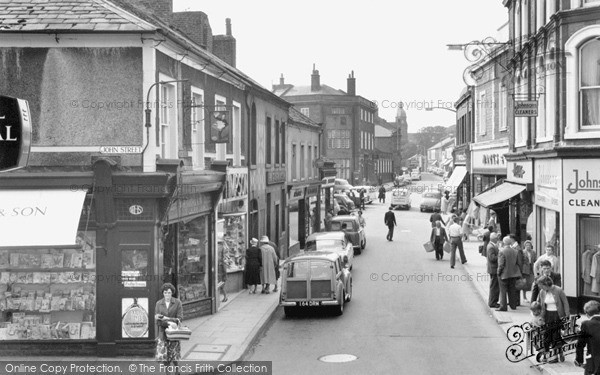Photo of Workington, Pow Street 1962, ref. W316031