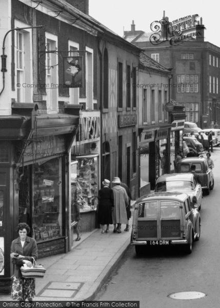 Photo of Workington, Pow Street 1962