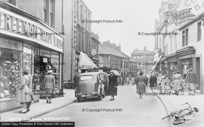 Photo of Workington, Pow Street c.1955