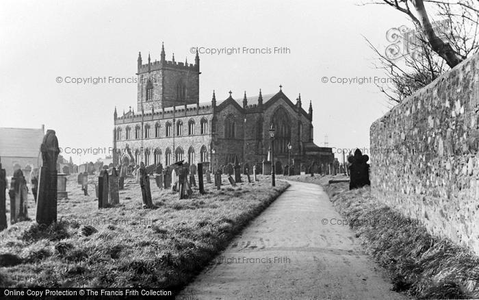Photo of Workington, St Michael's Church c.1955
