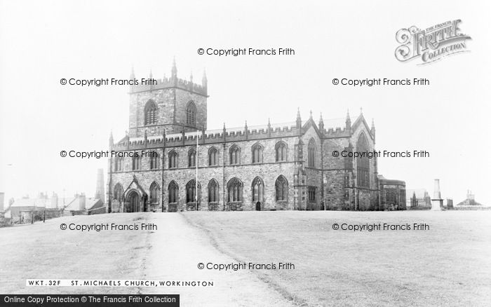 Photo of Workington, St Michael's Church c.1960