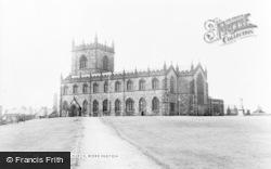 Workington, St Michael's Church c.1960