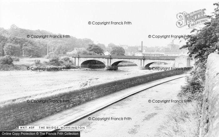 Photo of Workington, The Bridge c.1960