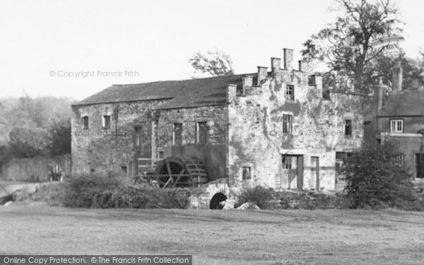 Photo of Workington, The Hall Mill c.1955