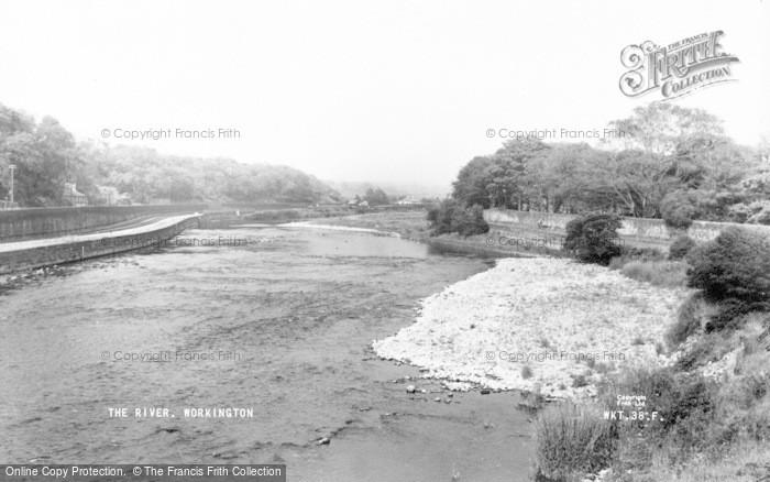 Photo of Workington, The River c.1960