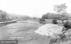 Workington, The River c.1960