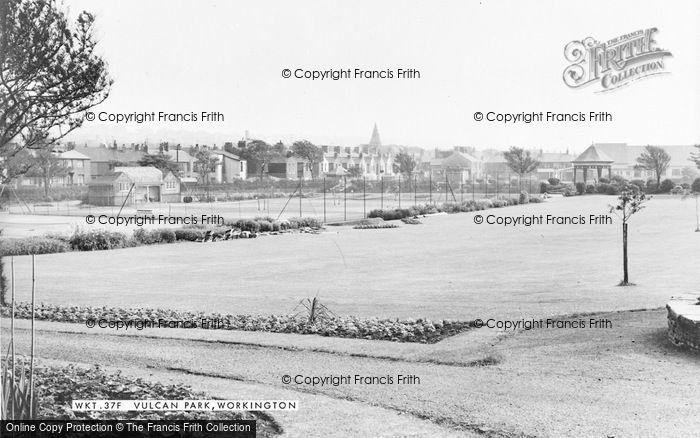 Photo of Workington, Vulcan Park c.1960