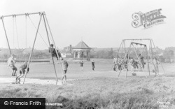 Workington, Vulcan Park, Children Playing c.1955