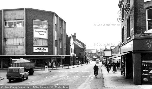Photo of Worksop, Bridge Place c.1965