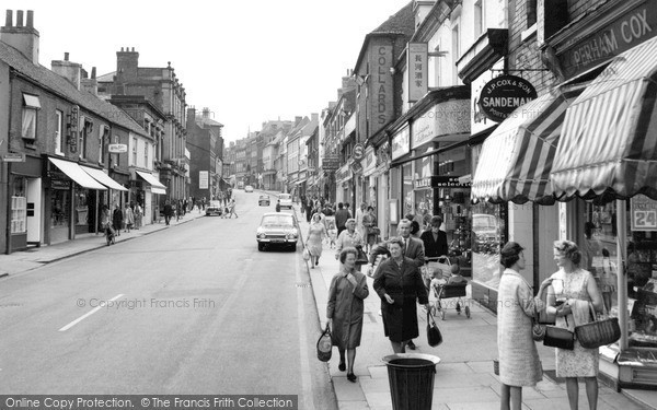 Photo of Worksop, Bridge Street 1967