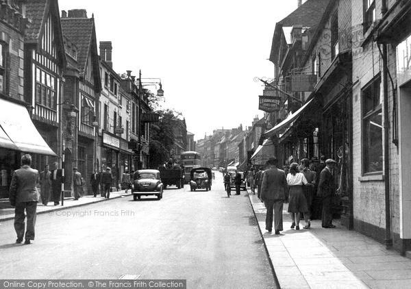 Photo of Worksop, Bridge Street c.1955