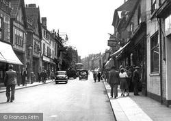Worksop, Bridge Street c.1955