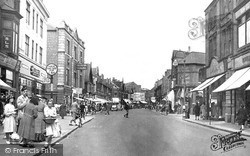 Worksop, Bridge Street c.1965