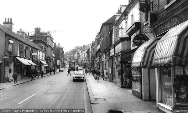 Photo of Worksop, Bridge Street c.1965