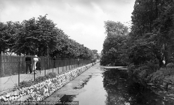 Photo of Worksop, Canch Walk c.1955