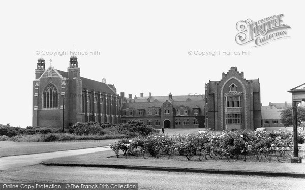 Photo of Worksop, College c.1965