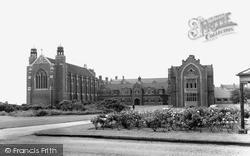 Worksop, College c.1965