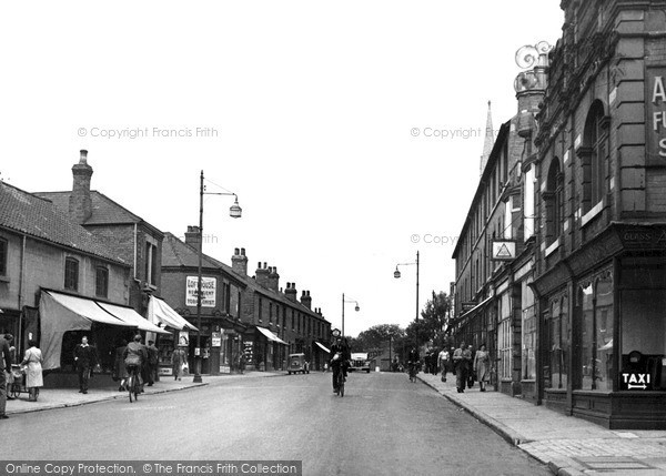 Photo of Worksop, Gateford Road c.1955