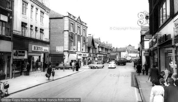 Photo of Worksop, High Street c.1965