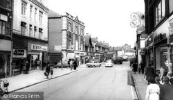 Worksop, High Street c.1965