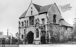 Worksop, Priory Gatehouse c.1938