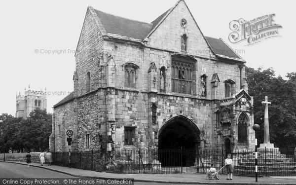 Photo of Worksop, Priory Gatehouse c.1955