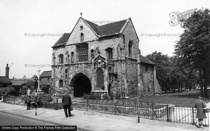 Photo of Worksop, Priory Gatehouse c.1965
