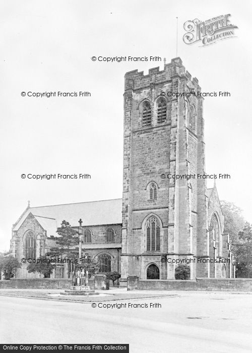 Photo of Worksop, St Anne's Church c.1955