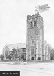 Worksop, St Anne's Church c.1955