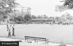 Worksop, The Bowling Green c.1955
