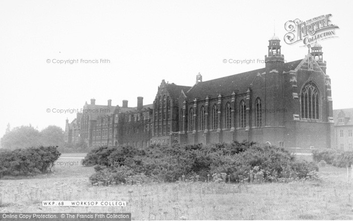 Photo of Worksop, The College c.1965
