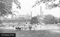 Worksop, The Park, Paddling Pool c.1955