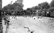 Worksop, the Swimming Pool c1955