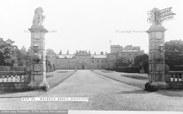 Photo of Worksop, Welbeck Abbey c.1955