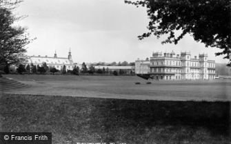 Worksop, Welbeck Abbey from South West c1880