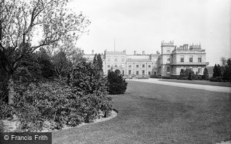 Worksop, Welbeck Abbey from West c1880