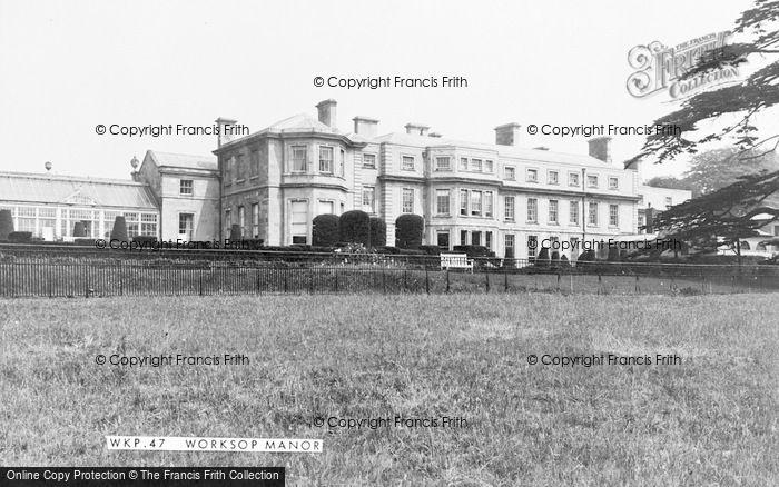 Photo of Worksop, Worksop Manor c.1955