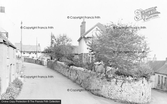 Photo of Worle, Church Road c.1955