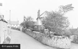 Worle, Church Road c.1955