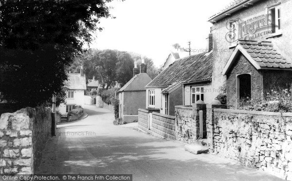 Photo of Worle, Church Road c.1960