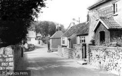 Worle, Church Road c.1960